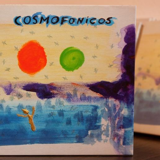 Arte de CD Cosmofonico, tapa.